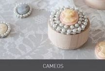 Cameo Embellishments / For that vintage and regal look to your wedding invitations and stationery, these cameo embellishments are a lovely addition to our laser cut ranges ribbons and patterned papers. www.imaginediy.co.uk