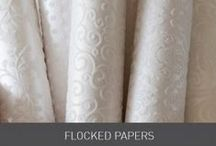 Flocked Papers / Luxurious velvet feel raised patterned papers really do look beautiful when incorporated in the design of your wedding invitations and stationery. We supply these in elegant whites, ivory and cream, or offer black and white variations for that bold finish. Overlayed on our signature pocket fold invitations, with a dior bow and buckle create a stunning combo. Find some examples of this in our wedding design idea board and competition winners. www.imaginediy.co.uk