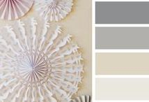 Color Pallet / Decide on a color or color pallet easily with this board.