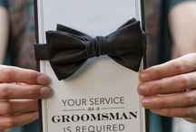 """hochzeit...TRAUZEUGE // GROOMSMEN / """"Willst Du mein Trauzeuge // Groomsman sein?""""  Am Tag der Hochzeit darf der Trauzeuge neben dem Bräutigam nicht fehlen. Und auch die besten Kumpel sollen als Groomsmen dabei sein? Hier gibt's DIY Geschenke und Ideen zum selber machen, über die sich garantiert jeder Mann freut...!  //fun ideas for your best man and the groomsmen: ask them to stand at your side with these easy to make diy gifts, get awesome group pictures on your wedding day with the boys and find manly ideas for your wedding day!"""
