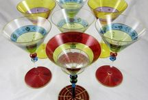 Martini Glasses We Love (but don't carry...yet) / At Tini Grails we are constantly looking for new awesome martini glasses. Here are some we love (and may be pursuing).
