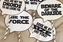 party like...STAR WARS // STAR WARS THEMED PARTY / Finde Ideen für eine Mottoparty oder Geburtstagsparty mit dem Thema Star Wars!