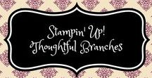 Stampin' Up! Thoughtful Branches / stampin up, thoughtful branches