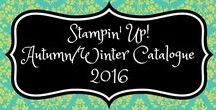 Stampin' Up! Autumn/Winter Catalogue 2016 / stampin up, holiday catalog, fall/winter catalogue, herfst/winter catalogus, 2016