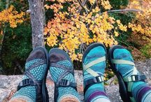 Chacos and Tevas