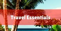 Travel essentials / Travel Essentials + Packing Tips for a Tropical Beach Vacation | What to Pack: Can't make it to the Islands this summer? That is no problem when your wardrobe is full of Hawaiian prints and bright colors. Discover our tropical picks for summer. Are you looking for tropical natural skin care products?