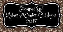 Stampin' Up! Autumn/Winter Catalogue 2017 / stampin up, holiday catalog, autumn/winter catalogue, herfst/winter catalogus, 2017, christmas, kerstmis, fall, herfst, halloween