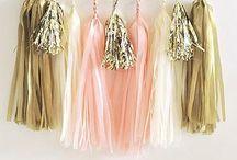 diy...TASSEL DEKO / Tasselgirlanden als Deko für die Party oder eine Hochzeit-hier gibt's Ideen & Tipps, wie du mit Tasseln dekorieren kannst!