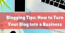 Blogging Tips: How to Turn Your Blog into a Business / So you started a blog, now what? You need to continue to learn and grow with your blog as you continue to generate traffic. Here are some of the best blogging tips, tricks, and blogging resources for all stages of blogging. Whether you are looking to create a resource library, write an e-book, or grow your audience, you can find it all here. And just remember, you don't have to do it alone.