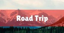 Road Trip / The best road trip tips and hacks for your next trip! The best road trip destinations, ideas for kids or keeping your toddler entertained, road trip snacks, and even printable packing lists!