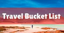 Travel Bucket list / Destinations in the UK and around the world to inspire wanderlust! Must-see places before I die in Europe, ideas for saving money, and even places to visit with couples!