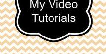 My Video Tutorials