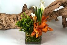 Original Alaric Flower Design Flower Arrangements / All of the bouquets and Arrangements are created by Lena, the owner and floral designer for Alaric Flower Designs.