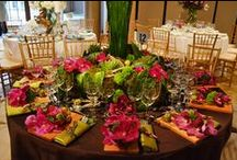 """New York Horticulture Society Flower Show / Alaric Flower Designs won the """"Best in Show"""" award for an original tablescape we presented at the 16th Annual New York Flower Show Dinner."""
