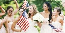 Red, White & Blue Wedding Inspirations / Wedding ideas for you in Red, White & Blue, from The Bride's Shoppe, Great Falls, MT www.TheBridesShoppe.com