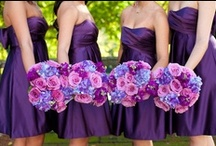 Purple Wedding Inspirations / Inspirations for your wedding, in brilliant shades of Purple and Amethyst...from The Bride's Shoppe, Great Falls, MT.   www.thebridesshoppe.net
