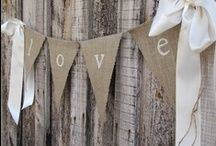 Burlap Wedding Inspirations / Whether your wedding is Shabby Chic, Rustic Country, Vintage or Autumn...burlap is the perfect choice for your decor! Here is a selection of Wedding Inspirations in Burlap, from The Bride's Shoppe, Great Falls, MT Like this board? Check out our Country/Rustic Wedding Inspirations! www.TheBridesShoppe.com