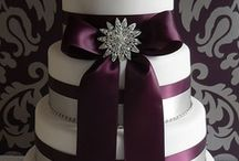 """Plum Wedding Inspirations / Wedding inspirations in rich shades of Plum and Aubergine. (did you know Aubergine is """"Eggplant"""" in French?) From The Bride's Shoppe, Great Falls, MT. www.TheBridesShoppe.com"""