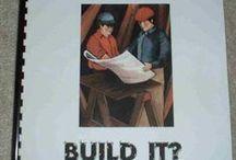 Bouwen  en Constructie / Bouwen met blokken,plastic bekers, kapla bussen,kisten enz.