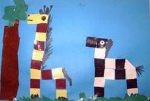 Dieren uit de dierentuin /  Kijk voor Digibordlessen,computerspelletjes,Filmpjes op Yurls bij; Tineke Witlam.yurls.net