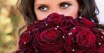 Burgundy & Wine Wedding Inspirations / Rich shades of Cranberry, Burgundy, Wine and Claret Red for your wedding...from The Bride's Shoppe, Great Falls, MT www.thebridesshoppe.com