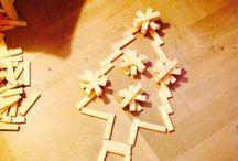 Bouw; met Kapla / Bij elk onderwerp een bouwwerk. Kijk ook bij Tineke Witlam.Yurls.net