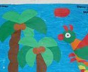 Into the Jungle! / Ook te gebruiken met de borden; Mex. en Z-Amerika en Indianen.Nog meer vind je op Yurls bij;Tineke Witlam.yurls.net