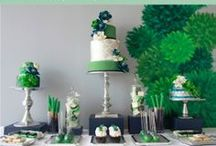 Emerald Wedding Inspirations / Elegant Emerald ideas for your fabulous wedding, from The Bride's Shoppe, Great Falls MT. www.TheBridesShoppe.com Love this board? Check out our Sage Green and Mint Green Wedding Inspiration Boards!