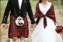 Tartan Wedding Inspirations / We're mad for plaid! Tartan is classic and beautiful for a wedding, whether you're Scottish or not! Here are some Wedding Inspirations for you in Tartan Plaid, from The Bride's Shoppe, Great Falls, MT www.TheBridesShoppe.com