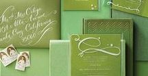 Green Wedding Inspirations / Pantone's 2017 color of the year is Greenery, and what better way to showcase this elegant shade than at your wedding! Inspirations from The Bride's Shoppe, Great Falls, MT. www.TheBridesShoppe.com