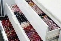 MAKE UP SAMMLUNG |Collection | Schminktisch | Vanity | Aufbewahrung / Inspiration zu XXL MAKE UP Sammlung, Schminktisch / Vanity und Collection und Aufbewahrung von Schminke