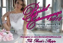Bridal Extravaganza 2015 / Our annual bridal expo was held at the Great Falls Civic Center on January 18, 2015. Here are the highlights! / by The Bride's Shoppe