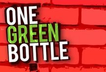 One Green Bottle (coming Oct 2015) / The various stages of working towards the book cover