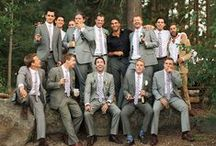 Groom Style / Stylish options for the men in your wedding party.          www.TheBridesShoppe.com