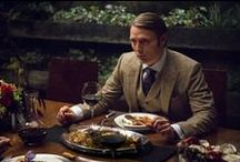 Hannibal : Food Porn / To celebrate Season 3 being unleashed on Digital now, here's a taster of the extraordinary, elegant food which graces every episode of HANNIBAL, designed by the supremely gifted artist Janice Poon. Before we start we must warn you, nothing here is vegetarian...