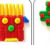 Bouwen met Nopper / Voorbeeldkaarten om  het bouwen met Nopper te stimuleren
