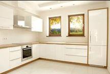 Białe Kuchnie / Przykłady aranżacji kuchni w bieli