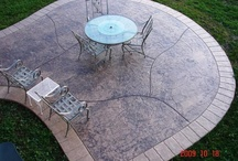 Stamped Concrete / We are a concrete contractor supply store with a selection of decorative concrete solutions to choose from. We also have the tools & supplies needed for the do it yourselfer. Visit our showroom today.
