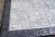 Stamped Concrete Borders / We are a concrete contractor supply store with a selection of decorative concrete solutions to choose from. We also have the tools & supplies needed for the do it yourselfer. Visit our showroom today.