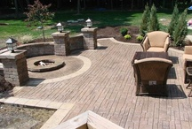 Concrete Stamped Fire Pits / We are a concrete contractor supply store with a selection of decorative concrete solutions to choose from. We also have the tools & supplies needed for the do it yourselfer. Visit our showroom today.