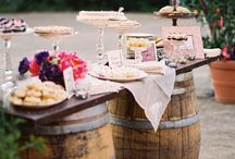 DESSERT & DRINK TABLE DECOR