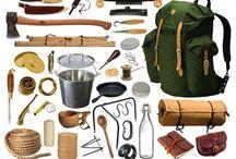 Weapons, survival stuff