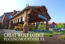 Pocono Mountains, PA | Great Wolf Lodge / Pin your favorite activities to your own board and start picturing your Great Wolf Lodge Pocono Mountains getaway!