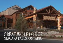Niagara Falls, Ontario | Great Wolf Lodge / Pin your favorite activities to your own board and start picturing your Great Wolf Lodge Niagara Falls getaway!