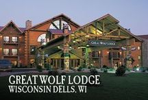 Wisconsin Dells, WI | Great Wolf Lodge / Pin your favorite activities and area destinations to your own board and start picturing your Great Wolf Lodge Wisconsin Dells getaway!