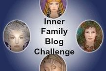 """Inner Family Blog Post Challenge / When our """"inner family is in harmony we are empowered"""". Sharing wisdom about the inner family in the 30 blog challenge."""