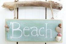 Praia e mar / tudo que lembra praia e mar