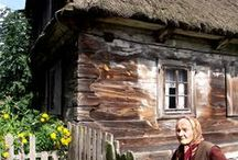 Polska wieś - Polish countryside / let's see too: http://www.pinterest.com/agaparker/style-polish-cottage/