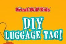 DIY / Take Great Wolf Lodge home with these DIY projects. Whether you're looking for a way to surprise your kids with a trip to the lodge, a birthday party craft, or just a fun way to spend an afternoon, these do it yourself projects are sure to keep little paws busy and excited about Great Wolf Lodge.
