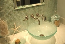 BATHROOMS / Bathroom ideas & just some things that I like... / by Melinda Hase